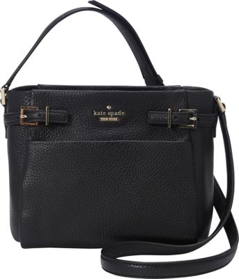 kate spade new york Holden Street Mini Brandy Crossbody Black - kate spade new york Designer Handbags