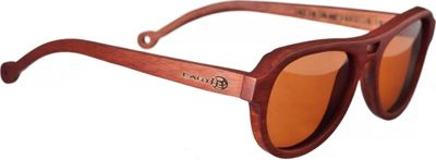Earth Wood Coronado Sunglasses Red Rosewood - Earth Wood Sunglasses