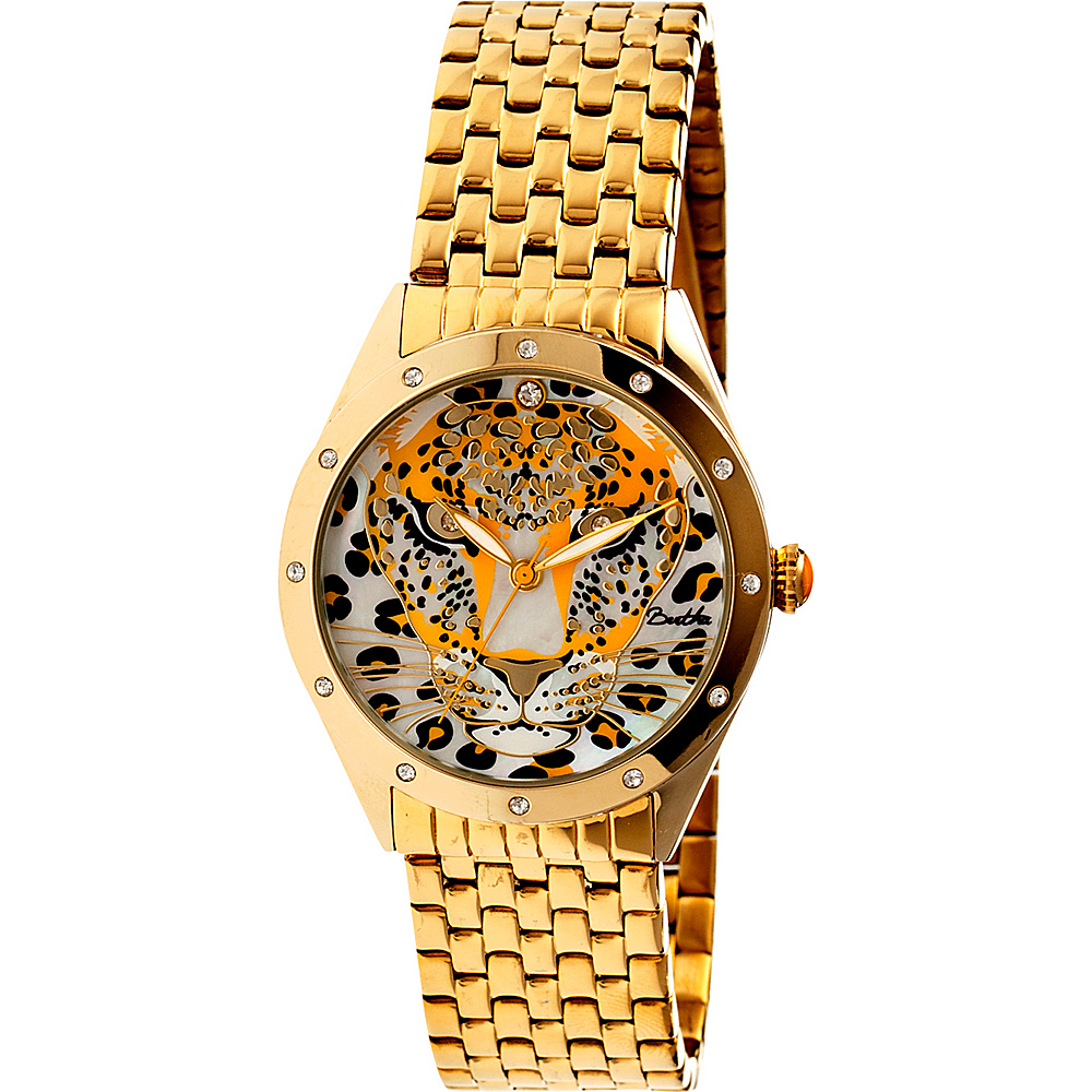 Bertha Watches Alexandra Stainless Steel Watch Gold Yellow Bertha Watches Watches