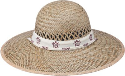 Gold Coast Rush Print Visor One Size - Natural - Gold Coast Hats/Gloves/Scarves
