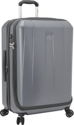 Delsey Helium Shadow 3.0 25 inch Spinner Suiter Trolley Platinum - Delsey Hardside Checked