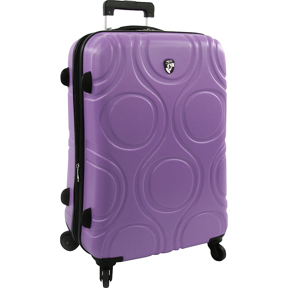 Heys America EcoOrbis 26 Upright Luggage Lilac Heys America Hardside Checked