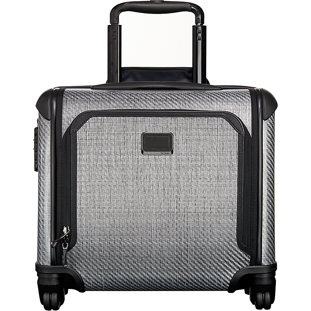 Tumi Tegra Lite Max Carry-On 4 Wheel Briefcase T-Graphite - Tumi Wheeled Business Cases - Work Bags & Briefcases, Wheeled Business Cases
