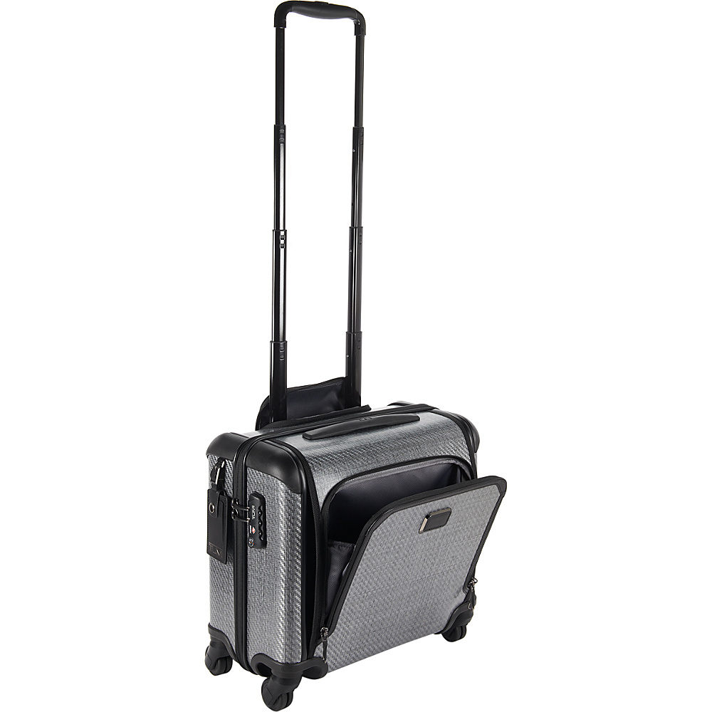 Tumi Tegra Lite Max Carry-On 4 Wheel Briefcase T-Graphite - Tumi Wheeled Business Cases