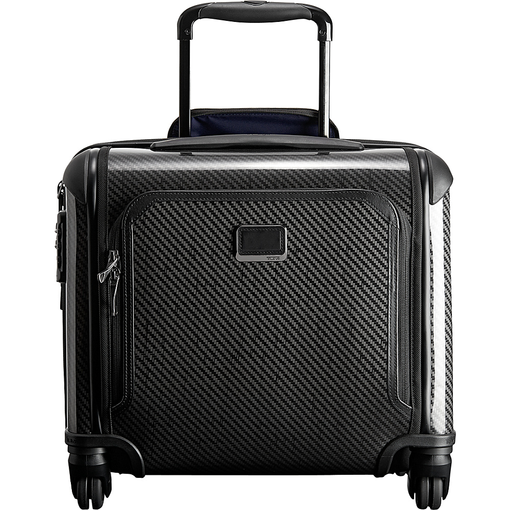 Tumi Tegra Lite Max Carry-On 4 Wheel Briefcase Dark Grey - Tumi Wheeled Business Cases