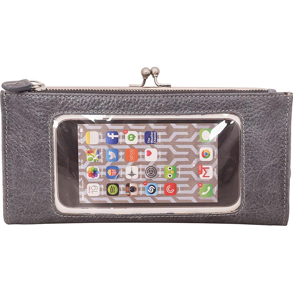 Latico Leathers Mavis Window Wallet Pebble Denim - Latico Leathers Womens Wallets - Women's SLG, Women's Wallets