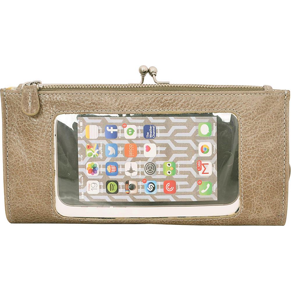 Latico Leathers Mavis Window Wallet Pebble Steel - Latico Leathers Womens Wallets - Women's SLG, Women's Wallets