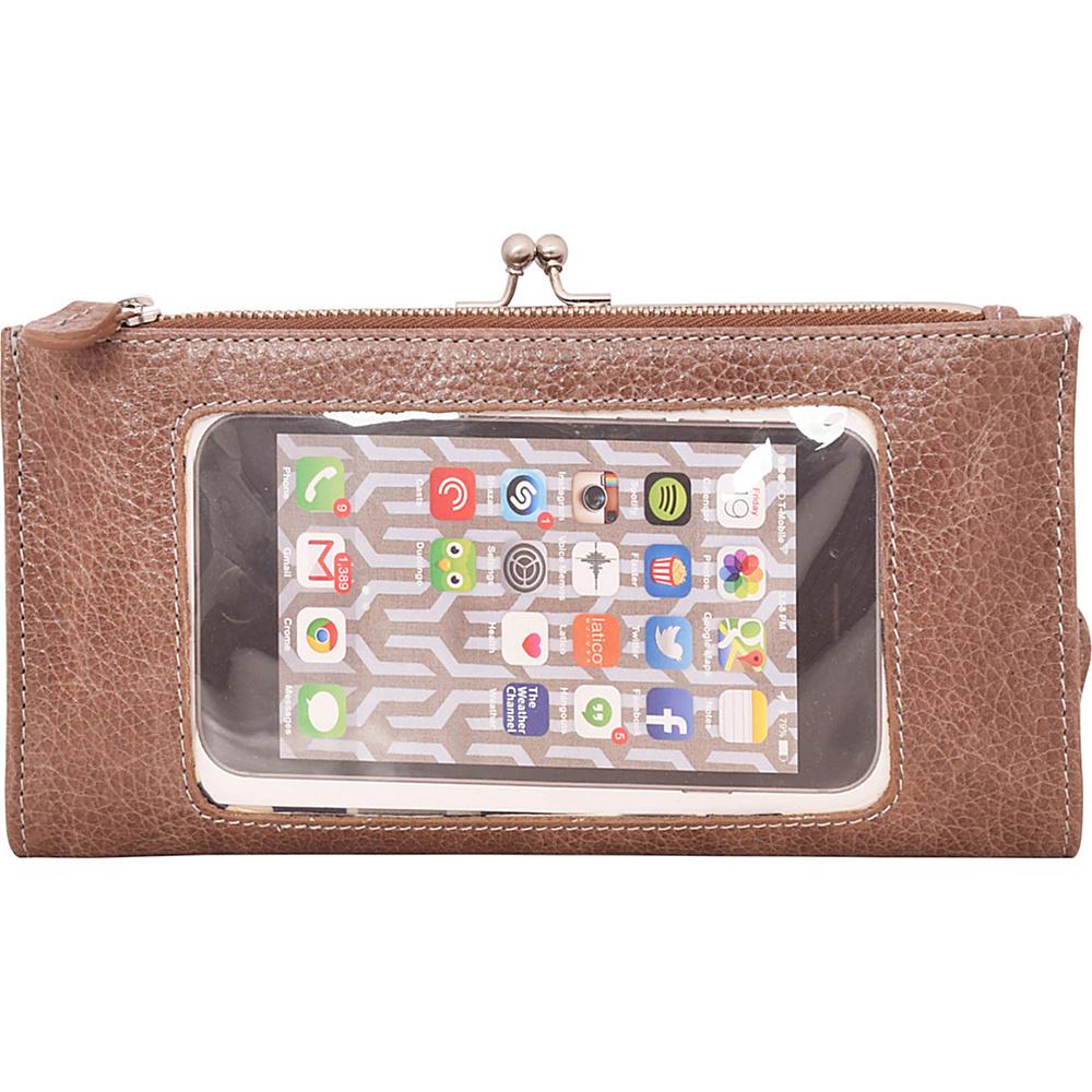 Latico Leathers Mavis Window Wallet Pebble Taupe - Latico Leathers Womens Wallets - Women's SLG, Women's Wallets
