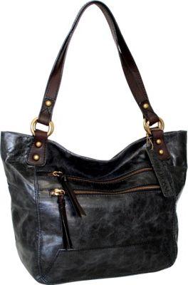 Nino Bossi Totes McGoats Black - Nino Bossi Leather Handbags