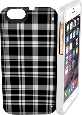 eyn case iPhone 6/6s Wallet/Storage Case Black & White - eyn case Electronic Cases