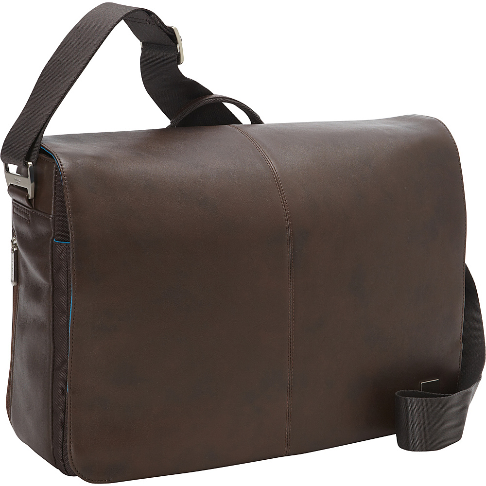 KNOMO London Bungo 15.6 Laptop Messenger Brown KNOMO London Messenger Bags