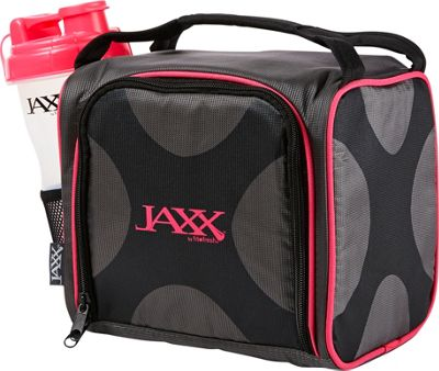 Fit & Fresh Fit & Fresh Jaxx Fuel Pack with Portion Control Containers Black & Pink - Fit & Fresh Travel Coolers 10354454