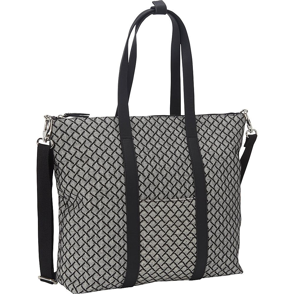 Magid Cotton Weave LG Tote Black - Magid Fabric Handbags