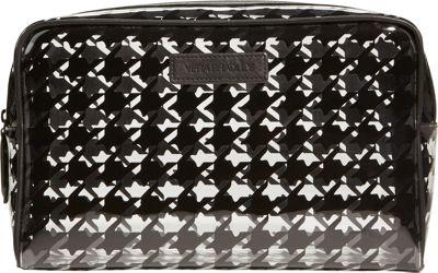 Vera Bradley Clear Cosmetic Midnight Houndstooth - Vera Bradley Ladies Cosmetic Bags