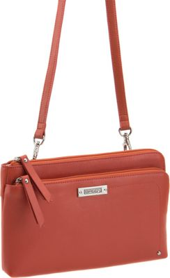Image of Baggs Bailey Crossbody Chili - Baggs Leather Handbags