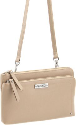 Image of Baggs Bailey Crossbody Buff - Baggs Leather Handbags