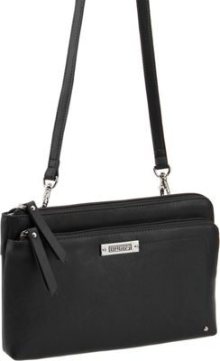 Image of Baggs Bailey Crossbody Black - Baggs Leather Handbags