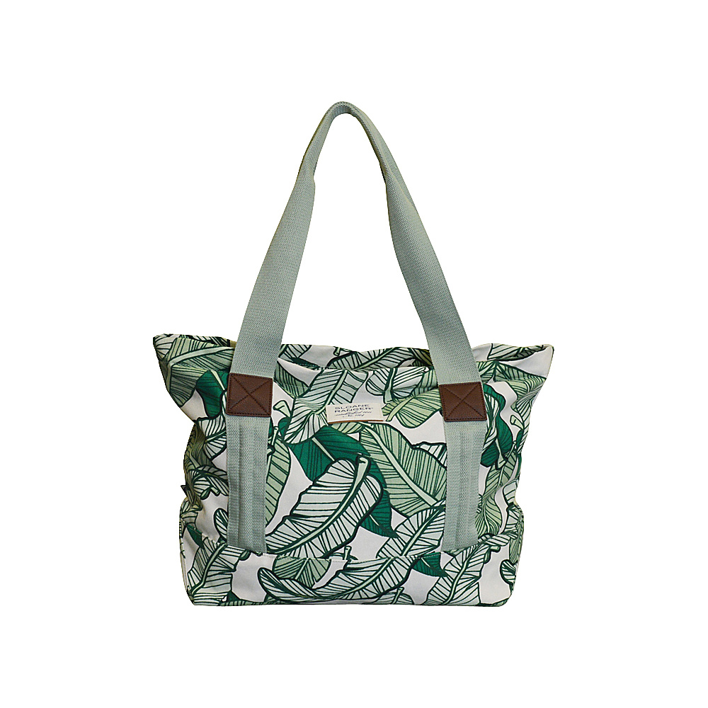 Sloane Ranger Tote Bag Banana Leaf Sloane Ranger Fabric Handbags