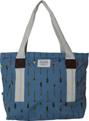 Sloane Ranger Tote Bag Oars - Sloane Ranger Fabric Handbags