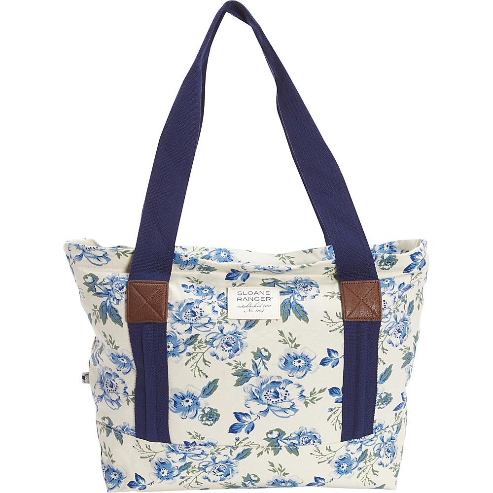 Sloane Ranger Tote Bag Vintage Floral Sloane Ranger Fabric Handbags