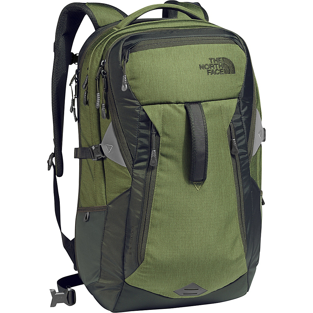 The North Face Router Laptop Backpack - 17 Terrarium Green Heather/Rosin Green - The North Face Business & Laptop Backpacks - Backpacks, Business & Laptop Backpacks