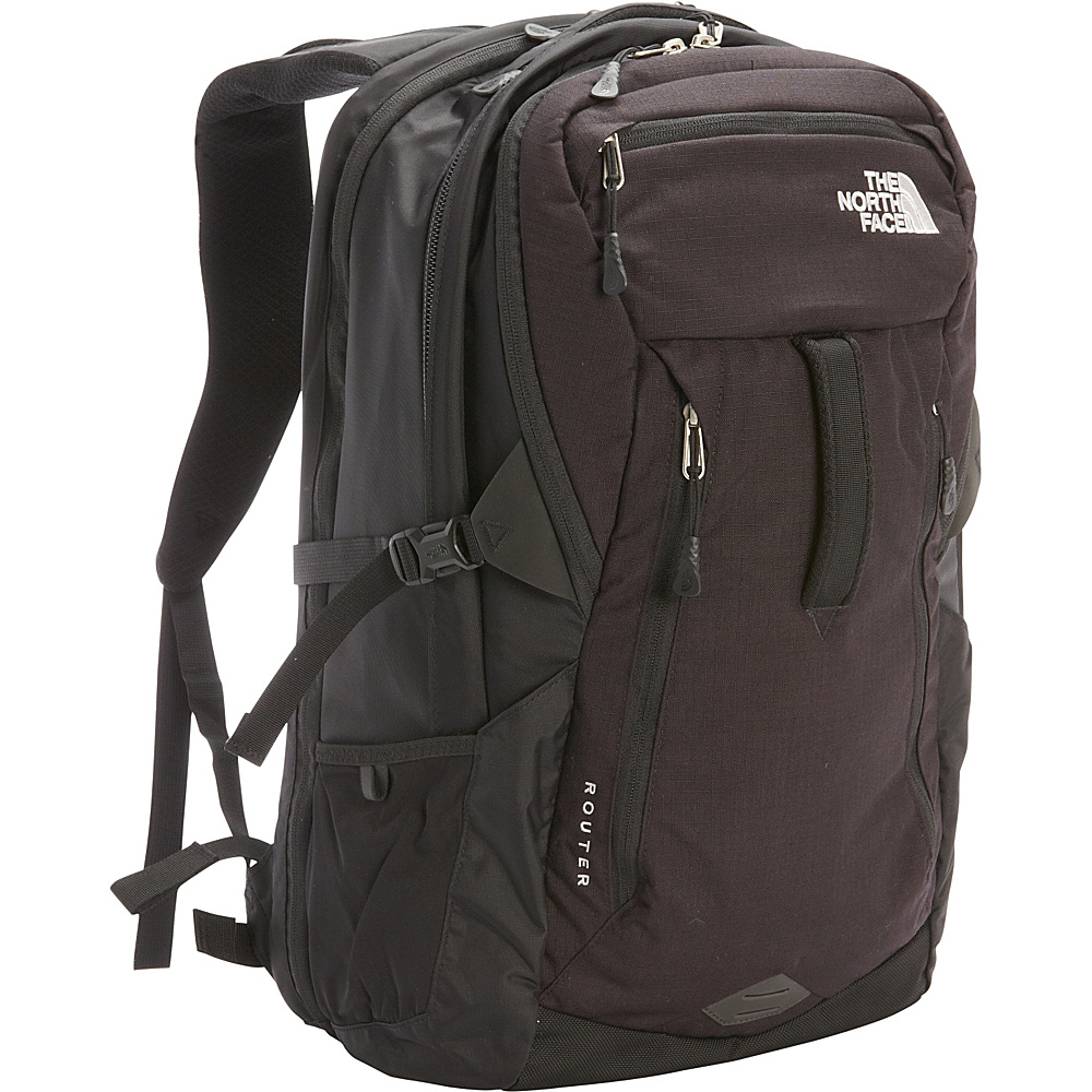 The North Face Router Laptop Backpack TNF Black The North Face Business Laptop Backpacks