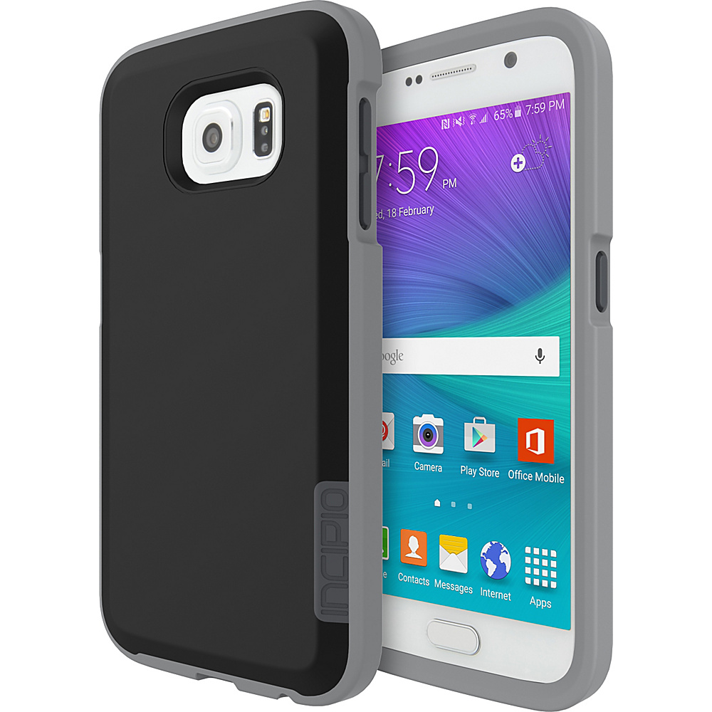 Incipio Phenom for Samsung Galaxy S6 Black/Stone/Charcoal - Incipio Electronic Cases - Technology, Electronic Cases