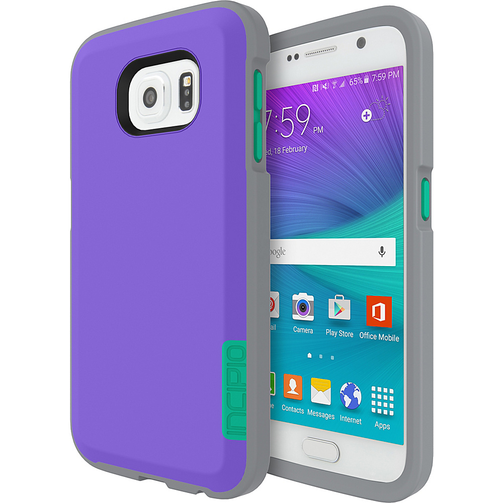 Incipio Phenom for Samsung Galaxy S6 Neon Purple/Gray/Teal - Incipio Electronic Cases - Technology, Electronic Cases