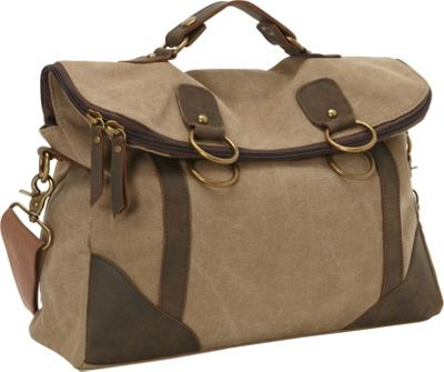Laurex Converitible Messenger Bag Khaki - Laurex Messenger Bags