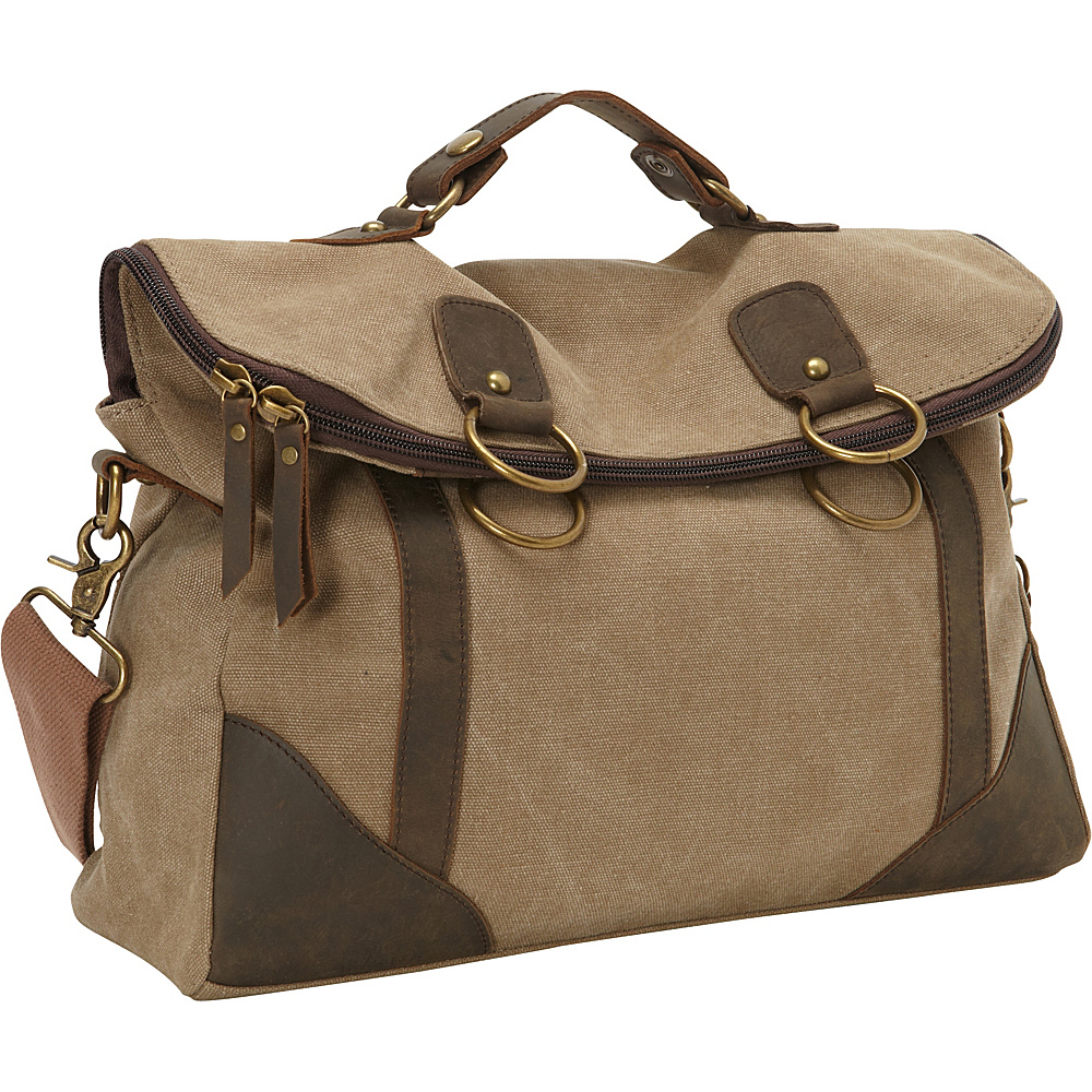 Laurex Converitible Messenger Bag Khaki Laurex Messenger Bags