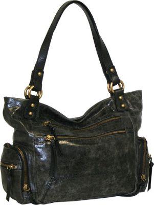 Nino Bossi Got Pockets Shoulder Bag Black - Nino Bossi Leather Handbags