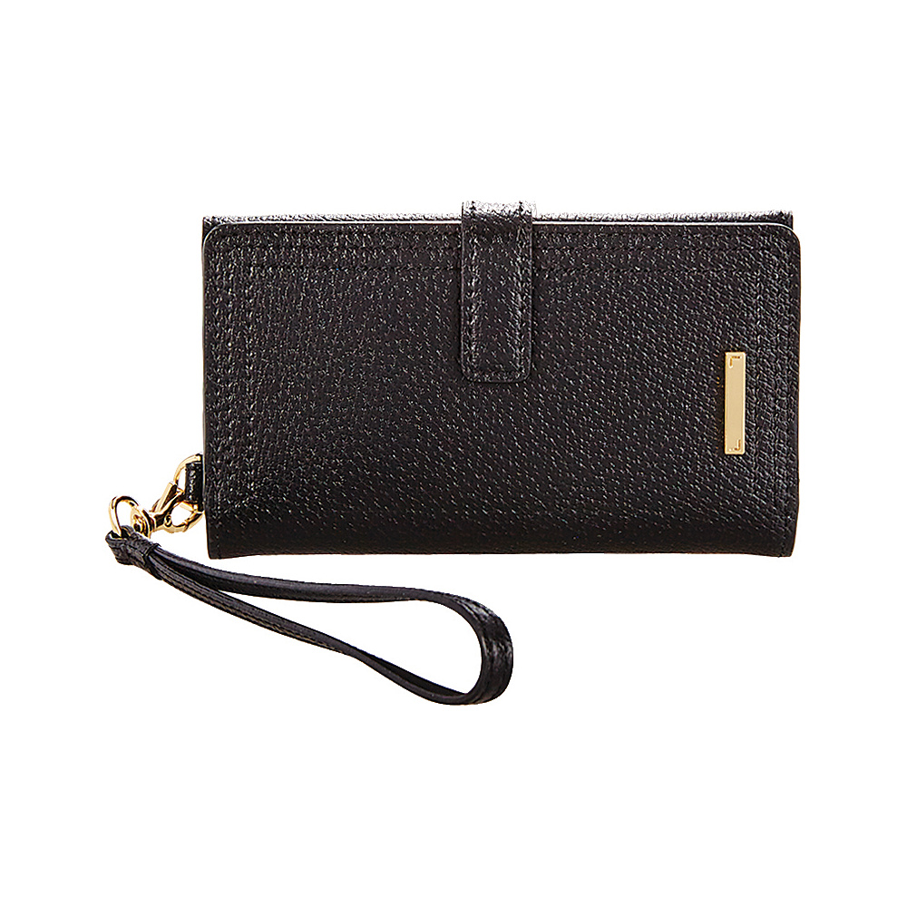 Lodis Stephanie RFID Lily Phone Wallet Black Lodis Women s Wallets