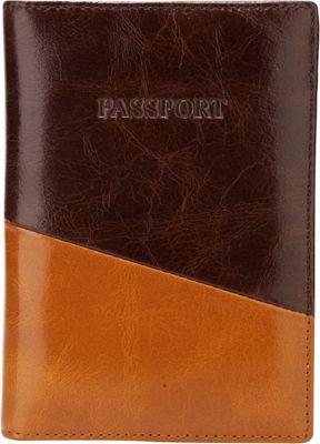 Vicenzo Leather NewYork Distressed Leather Travel Passport Wallet Holder Case Espresso Brown - Vicenzo Leather Travel Wallets