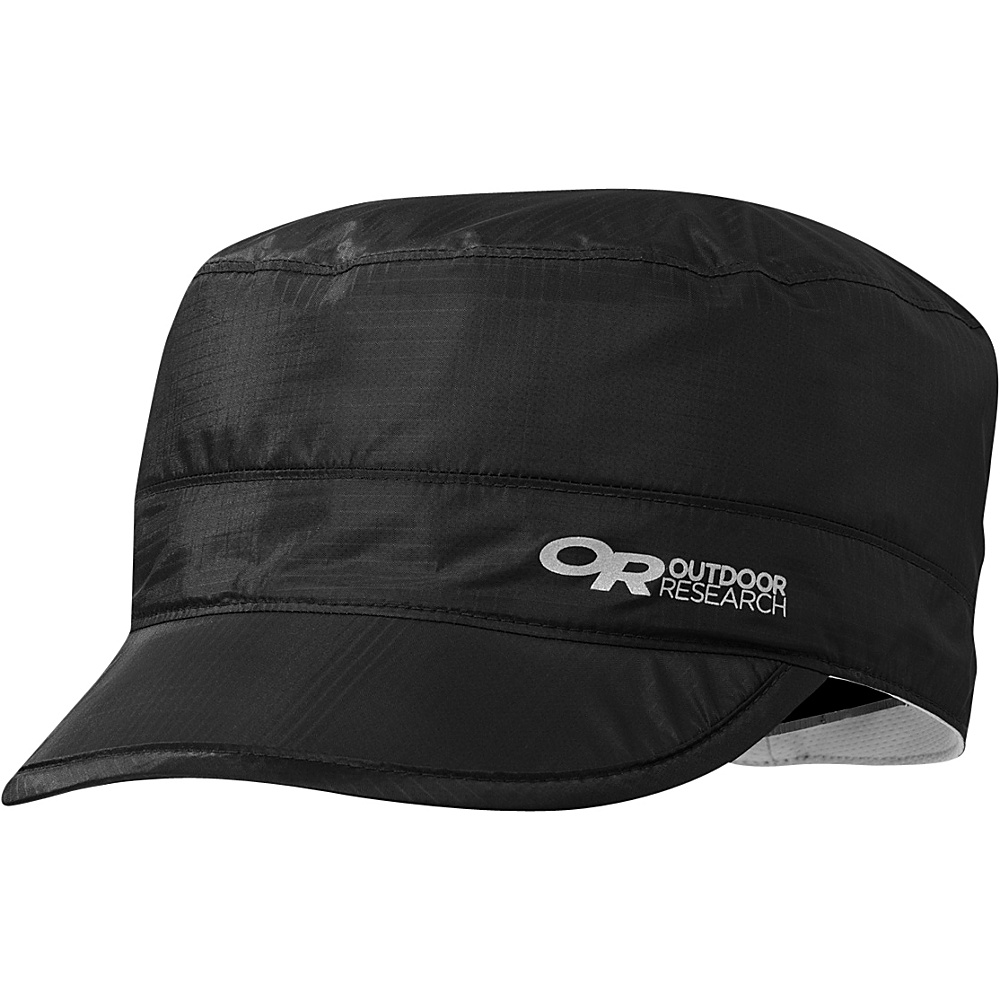Outdoor Research Helium Radar Rain Cap L/XL - Black - Outdoor Research Hats/Gloves/Scarves - Fashion Accessories, Hats/Gloves/Scarves