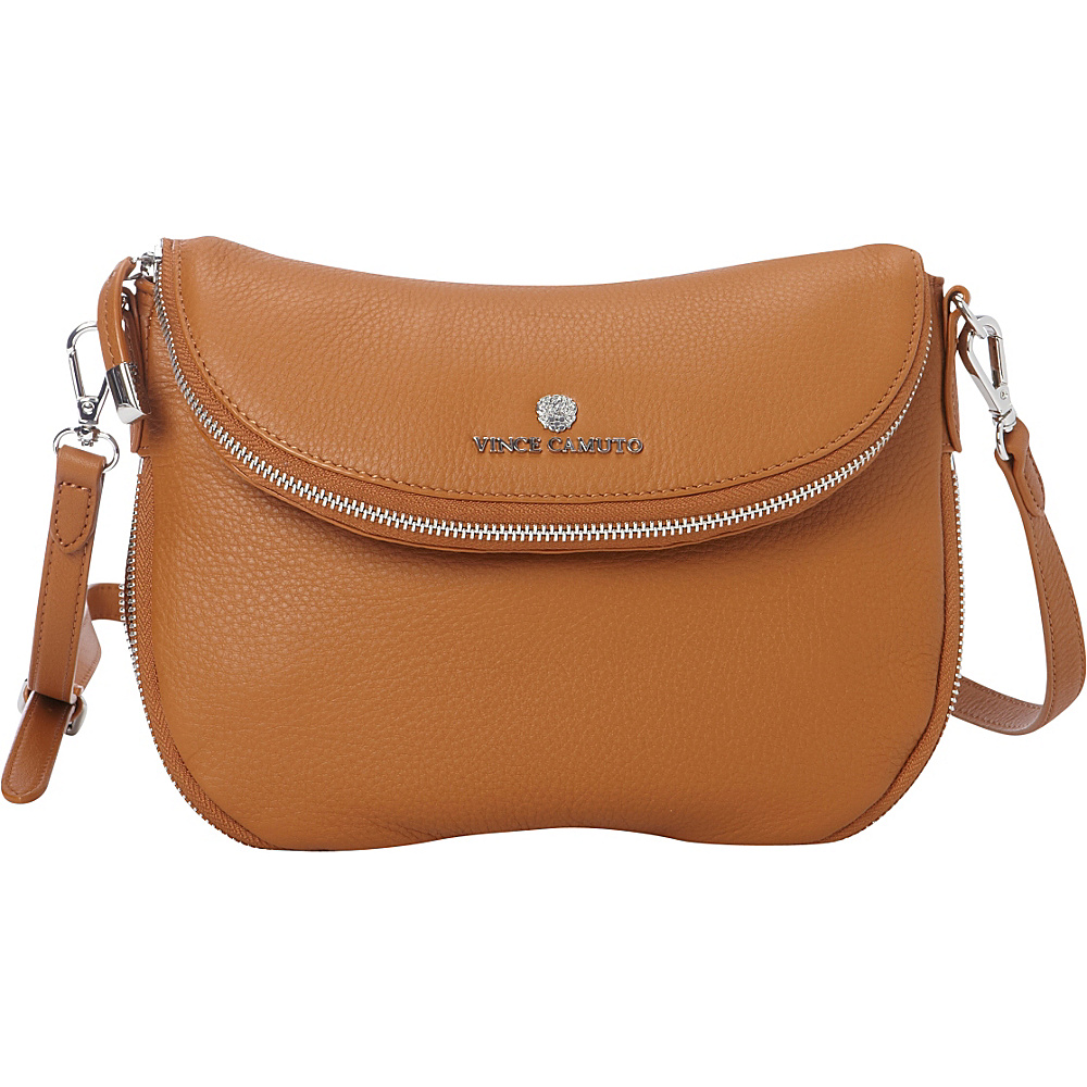 Vince Camuto Rizo Crossbody Gingerbread Vince Camuto Designer Handbags