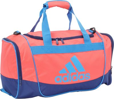 adidas Defender II Small Duffel Shock Red/Unity Ink/Ray Blue/Black - adidas All Purpose Duffels