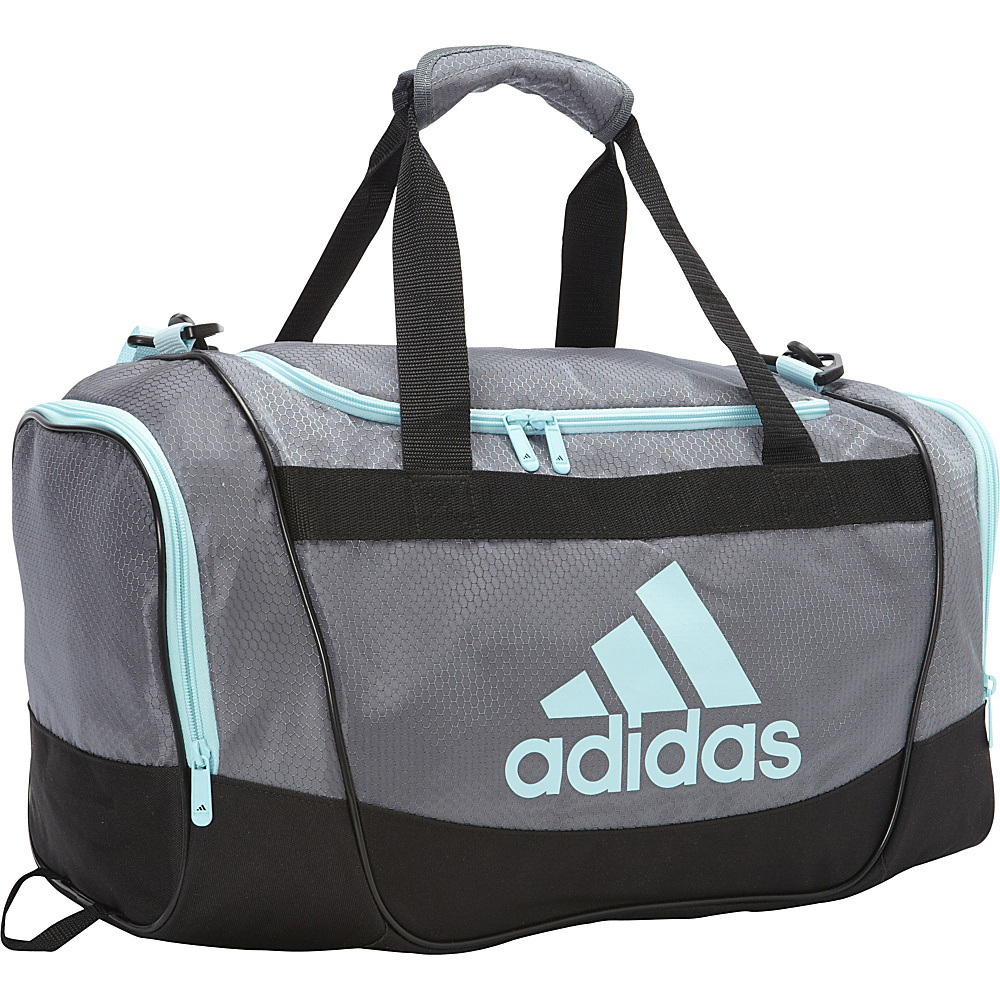 ... UPC 716106747137 product image for adidas Defender II Small Duffel  Onix Frozen Blue - adidas ... 10f61ef149aa7