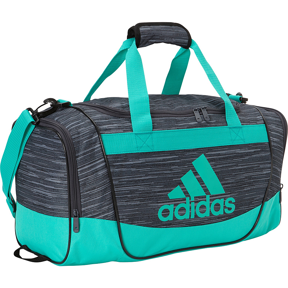 e3da2a67fab3 ... UPC 716106774508 product image for adidas Defender II Small Duffel  Deepest Space Freerun   Shock Mint