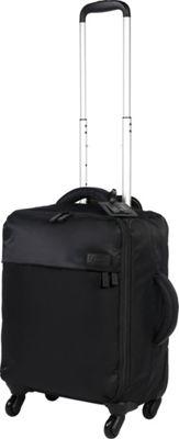 Lipault Paris Original Plume Spinner 55/20 Luggage Black - Lipault Paris Softside Carry-On