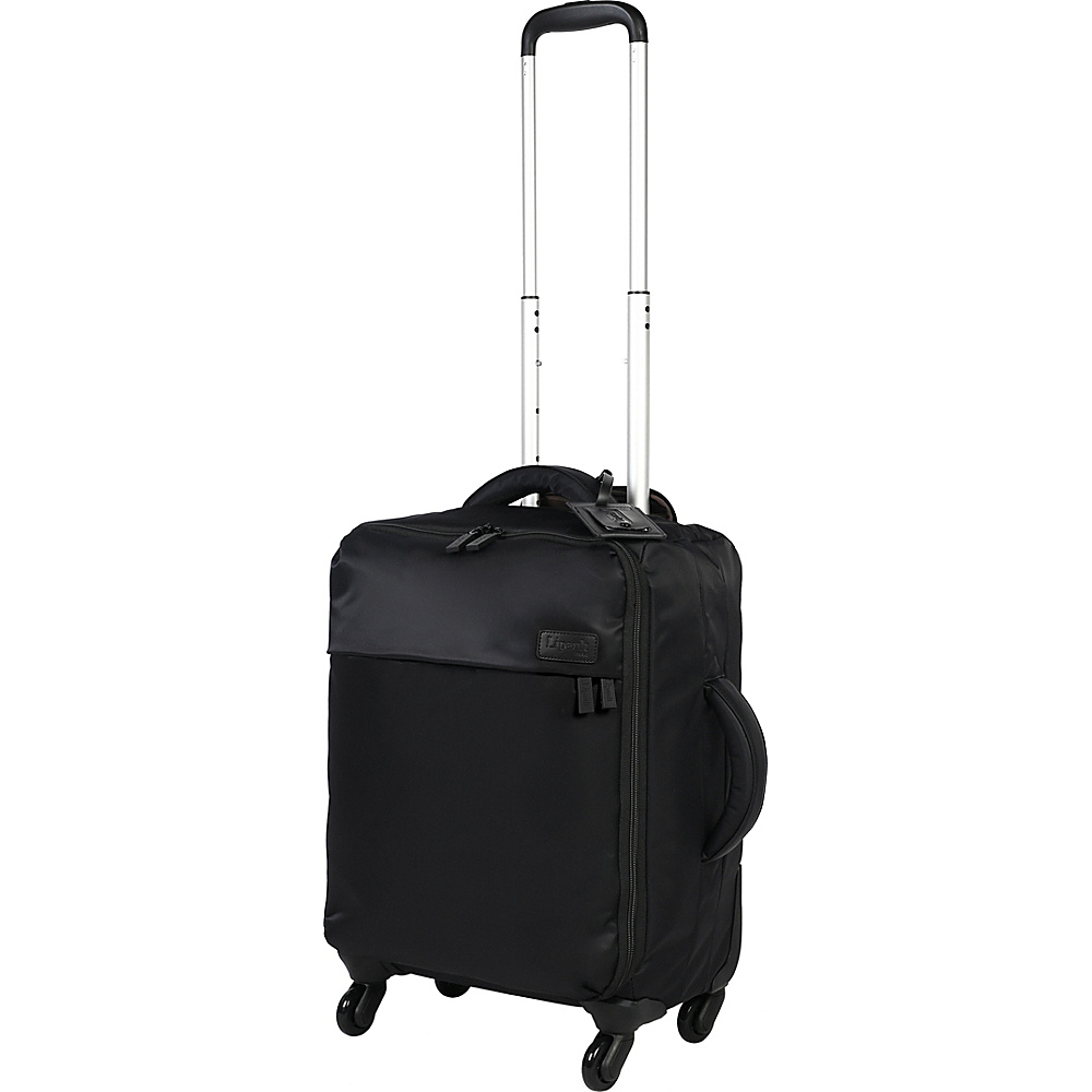 Lipault Paris Spinner 20 Black Lipault Paris Softside Carry On
