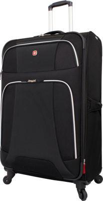 Wenger Travel Gear Monte Leone 29 inch Spinner Black - Wenger Travel Gear Softside Checked