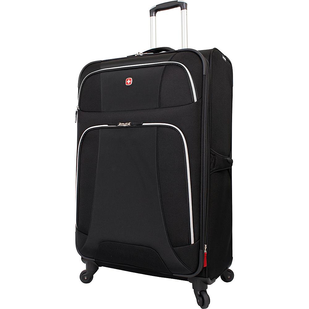 """Wenger Travel Gear Monte Leone 29"""" Spinner Black - Wenger Travel Gear Softside Checked"""