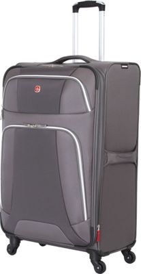 Wenger Travel Gear Monte Leone 29 inch Spinner Grey - Wenger Travel Gear Softside Checked