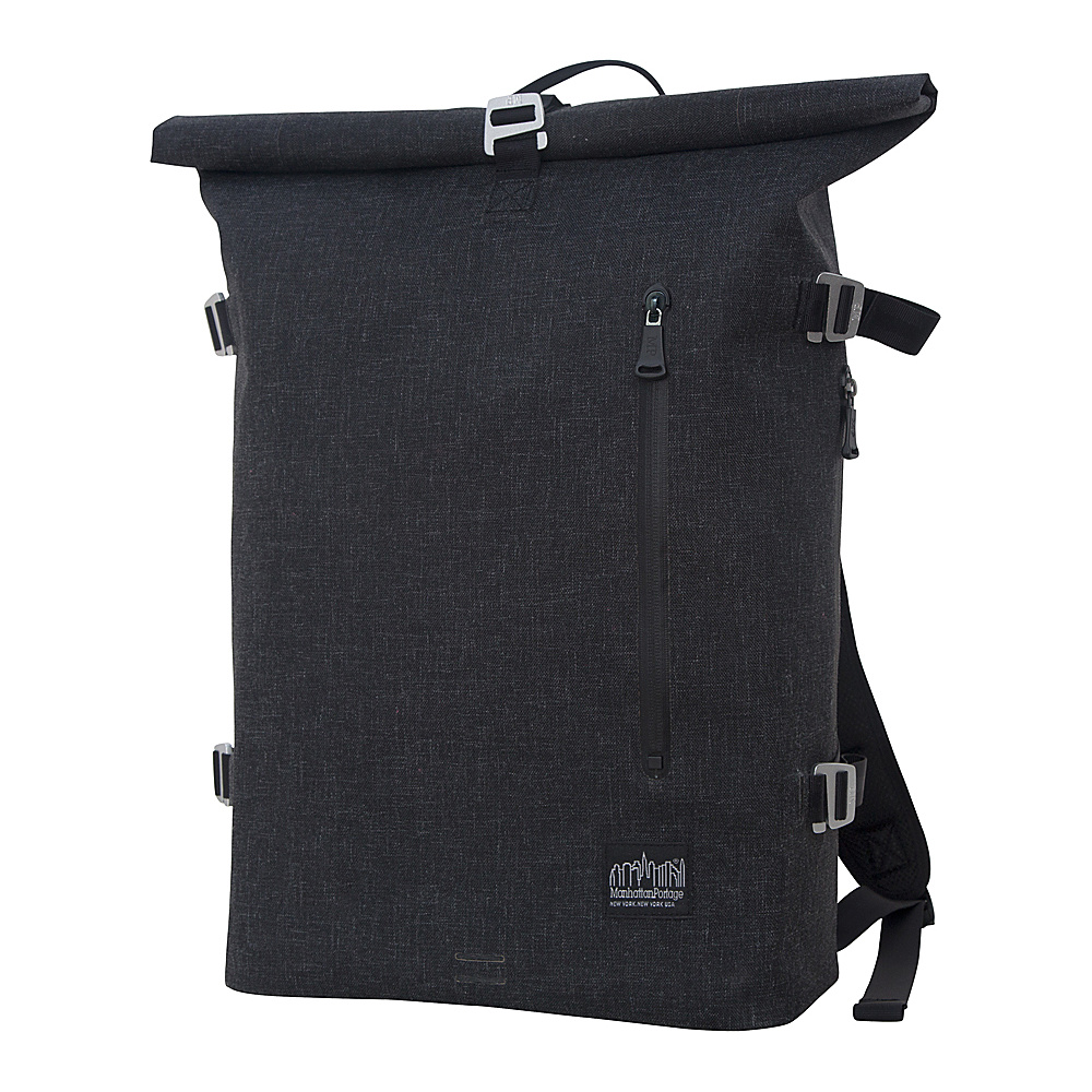 Manhattan Portage Harbor Backpack Black - Manhattan Portage Business & Laptop Backpacks - Backpacks, Business & Laptop Backpacks