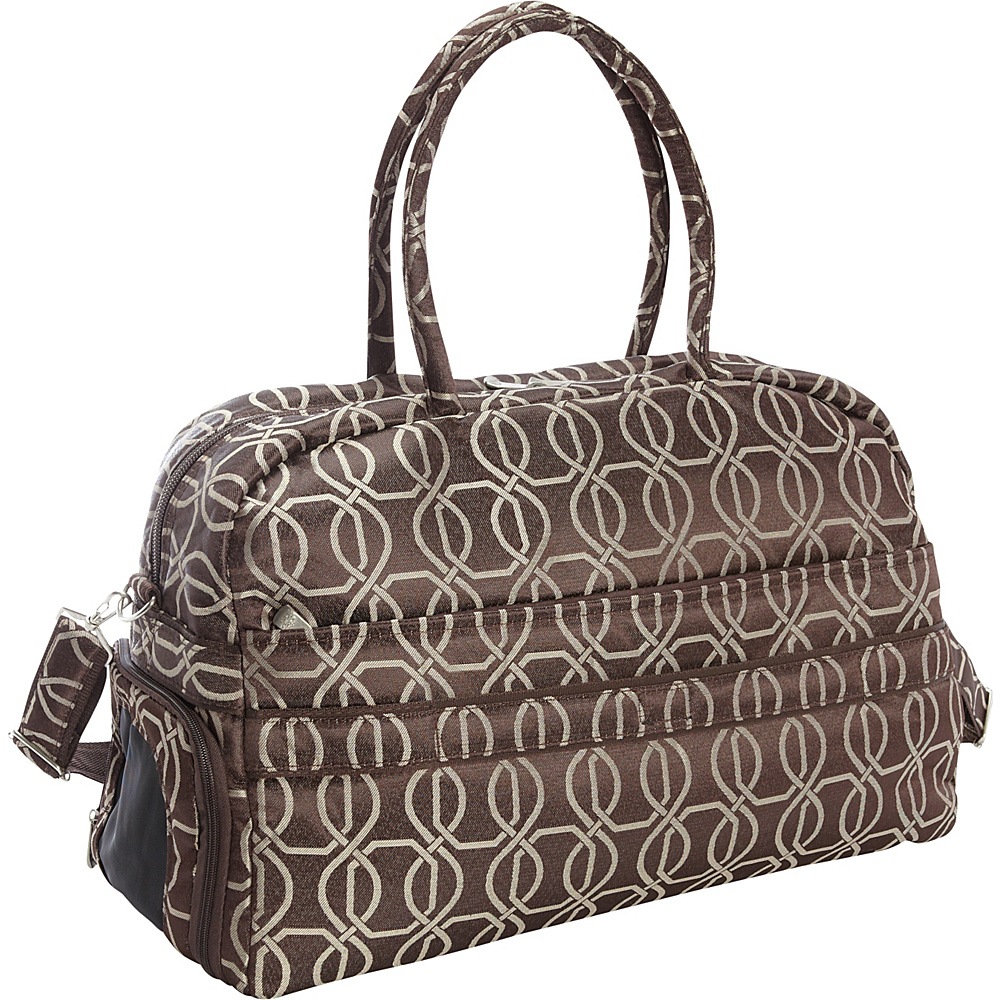Jenni Chan Links Soft Gym Duffel Brown Jenni Chan Travel Duffels
