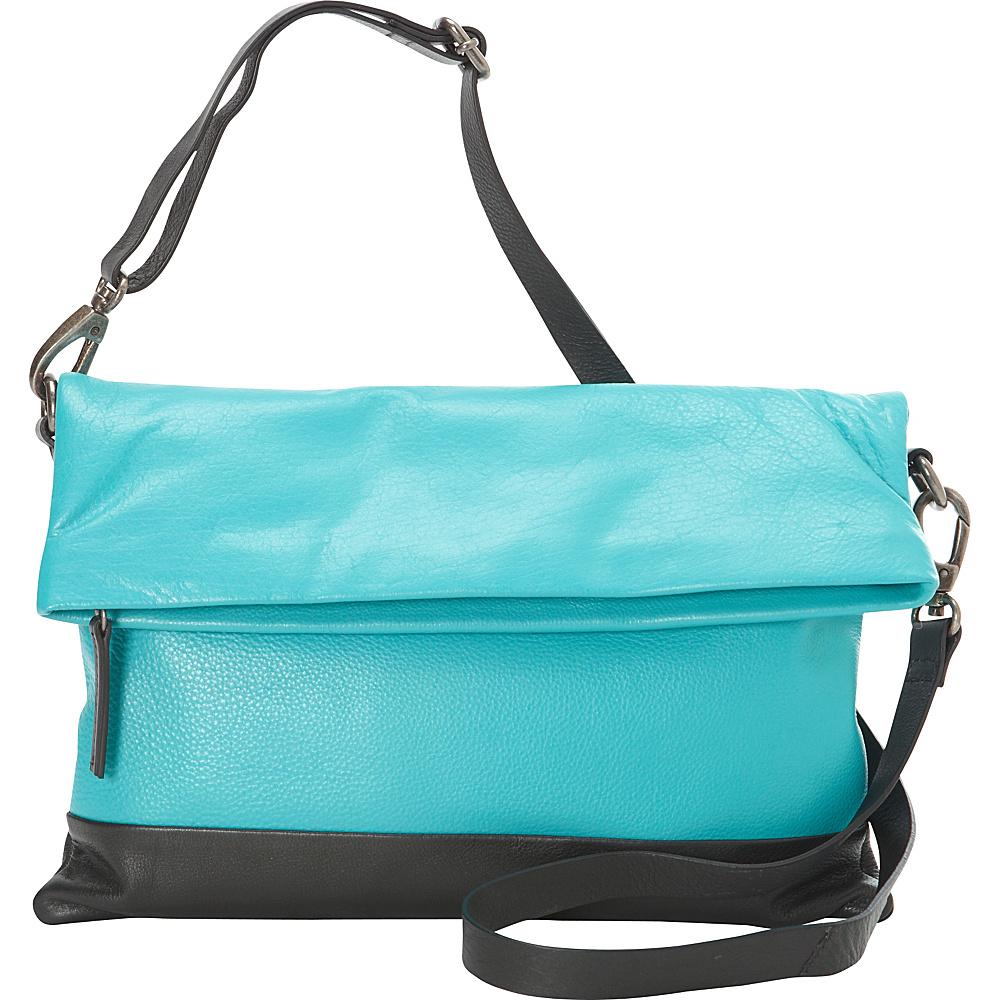 Hadaki Primavera Clutch Viridian Green - Hadaki Leather Handbags - Handbags, Leather Handbags