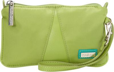 Hadaki Wristlet Piquat Green - Hadaki Fabric Handbags
