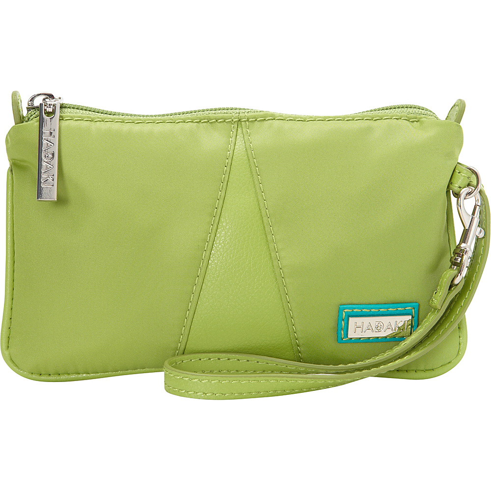 Hadaki Wristlet Piquat Green - Hadaki Fabric Handbags - Handbags, Fabric Handbags