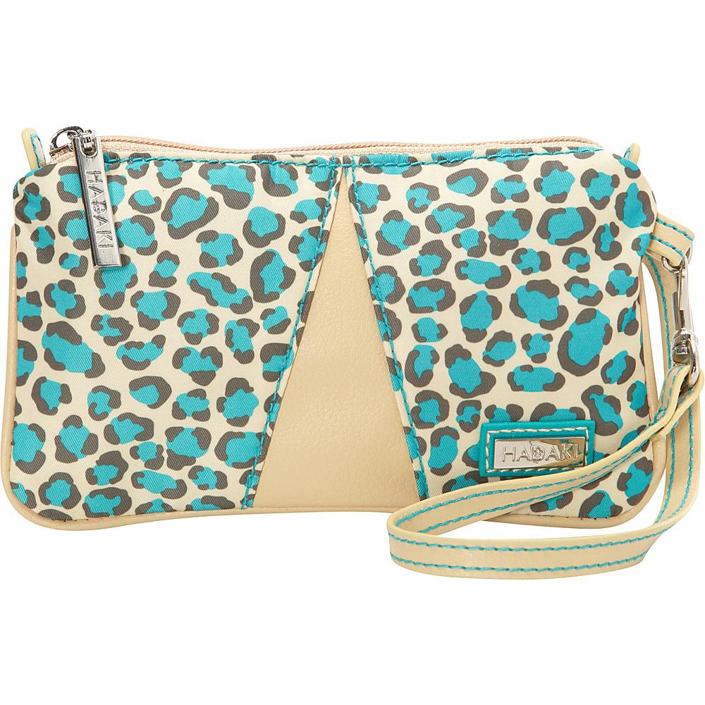 Hadaki Wristlet Primavera Cheetah - Hadaki Fabric Handbags - Handbags, Fabric Handbags