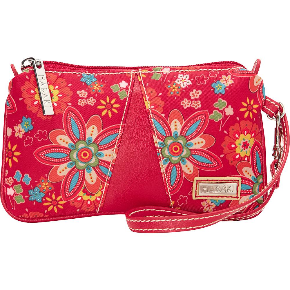 Hadaki Wristlet Primavera Floral - Hadaki Fabric Handbags - Handbags, Fabric Handbags